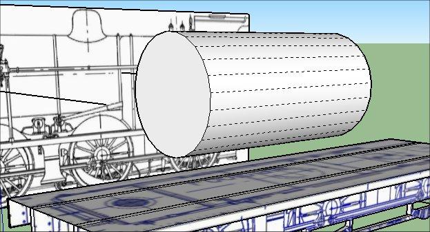 Rail3D - docs/tutorials - Steam Engine in Sketchup