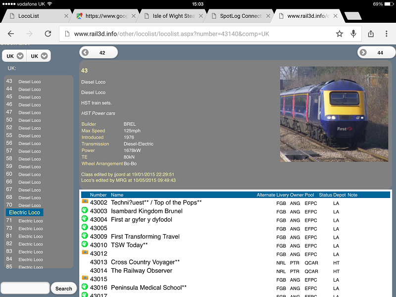 Rail3D - spotlog/manual - Spot Log Log Viewer